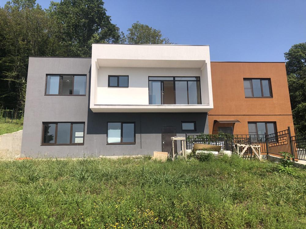 Фасад готового дома